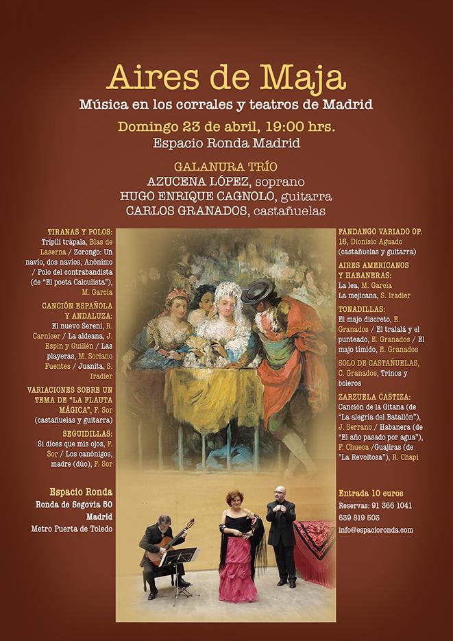 AIRES DE MAJA: Música en los corrales y teatros de Madrid