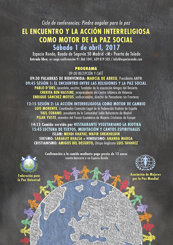 El Encuentro y la Acción Interreligiosa como Motor de la Paz Social
