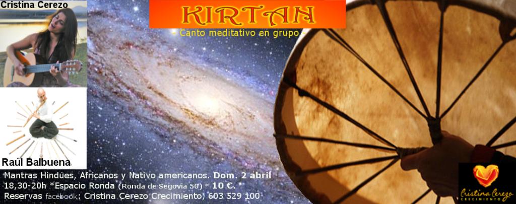 """""""KIRTAN o Canto en grupo meditativo"""""""