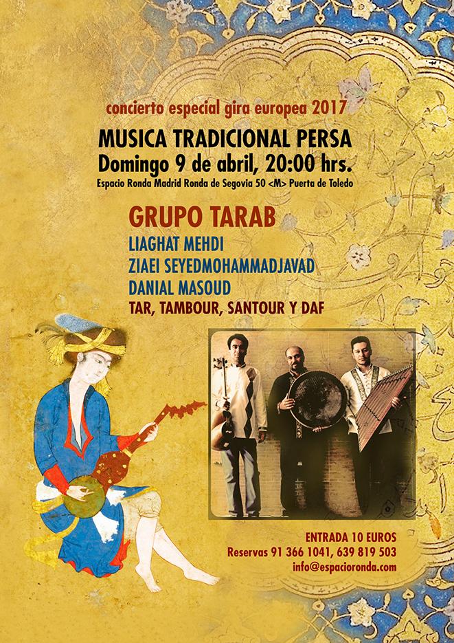 Concierto de Música Tradicional Persa con el Grupo TARAB