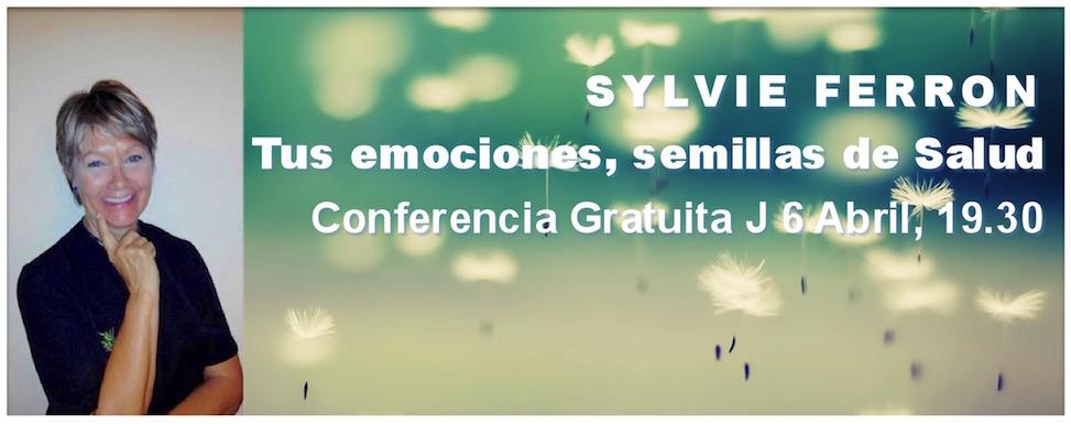 """Conferencia gratuita """"Tus emociones, semillas de Salud"""""""
