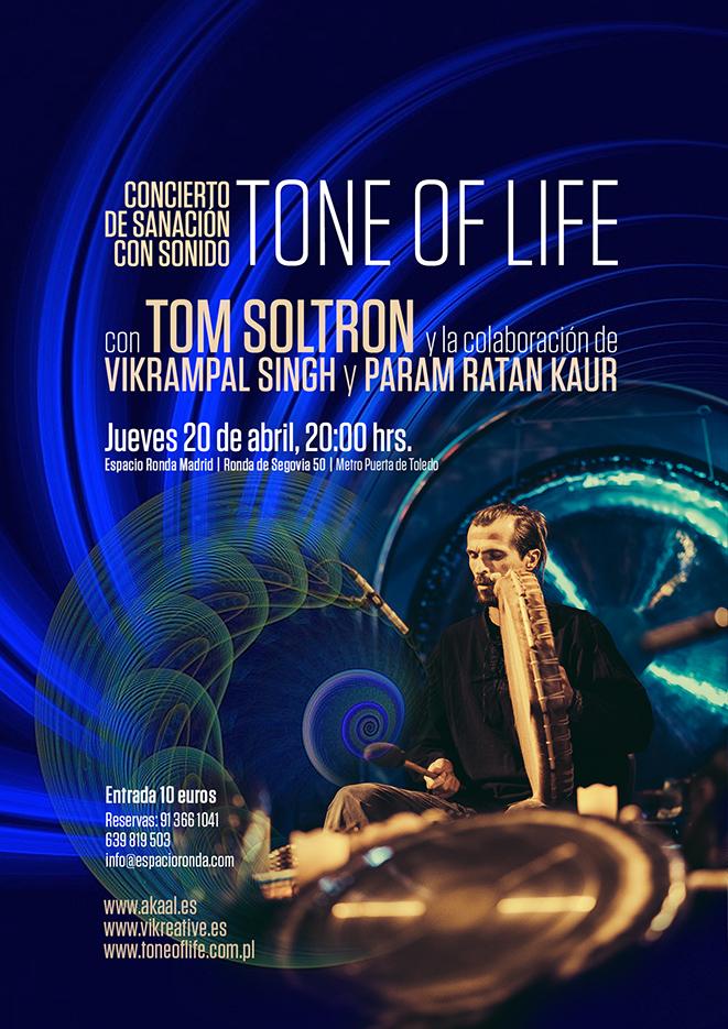 Concierto de Sanación con Sonido: TONE OF LIFE