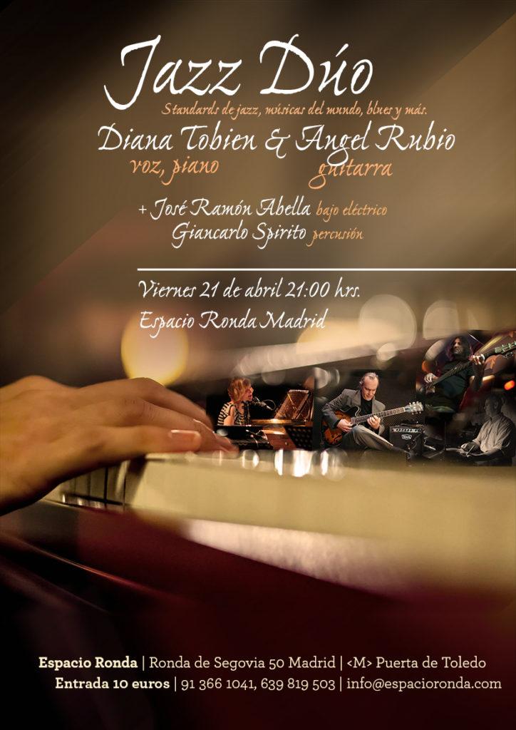 JAZZ DUO: Diana Tobien + Ángel Rubio en concierto