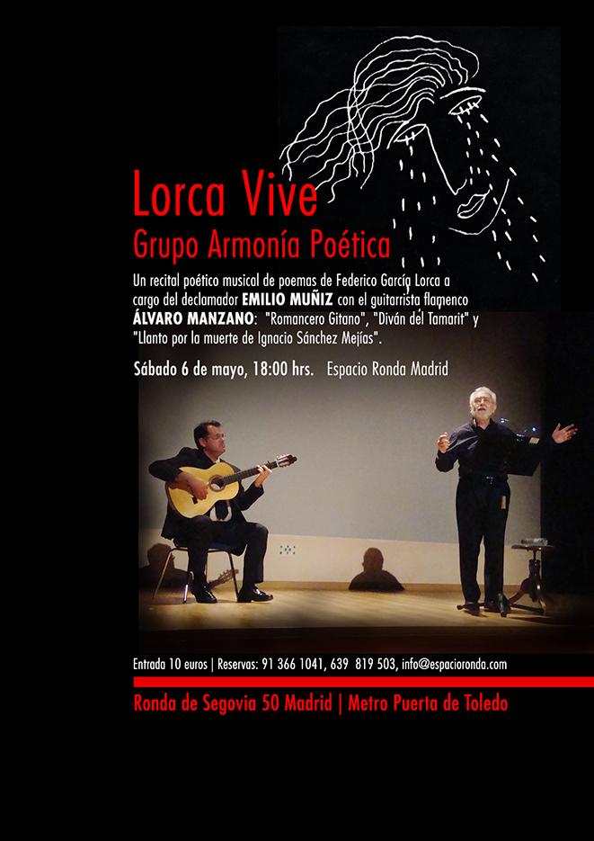 LORCA VIVE, un recital poético musical