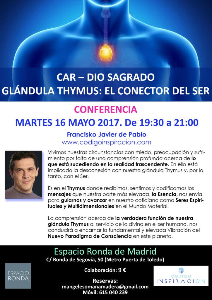 CAR - DIO Sagrado Glándula Thymus: El conector del Ser