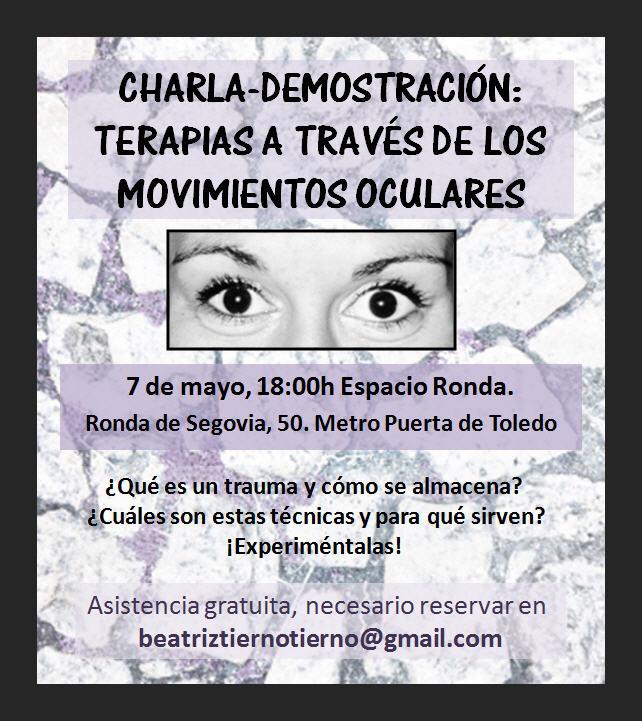 Charla-demostración: terapias a través de los movimientos oculares