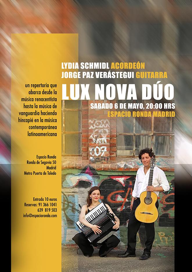 LUX NOVA DÚO en concierto