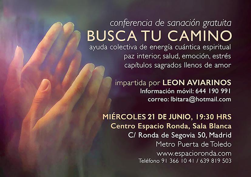 Conferencia de Sanación BUSCA TU CAMINO