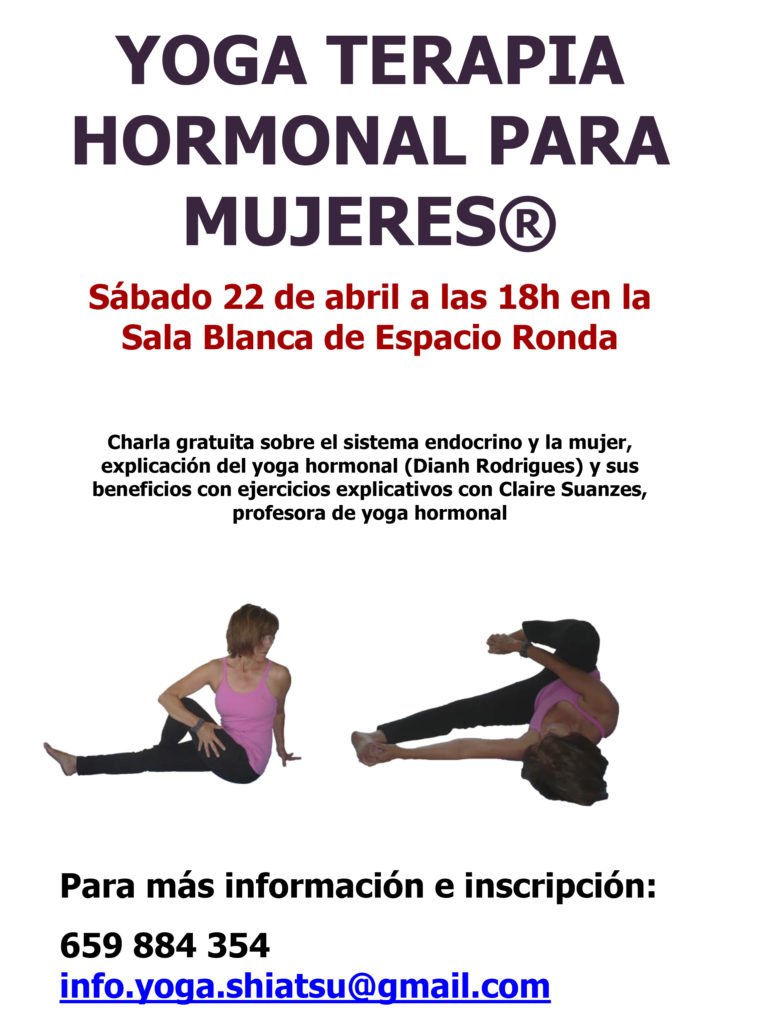 Conferencia sobre Yoga Terapia Hormonal ®