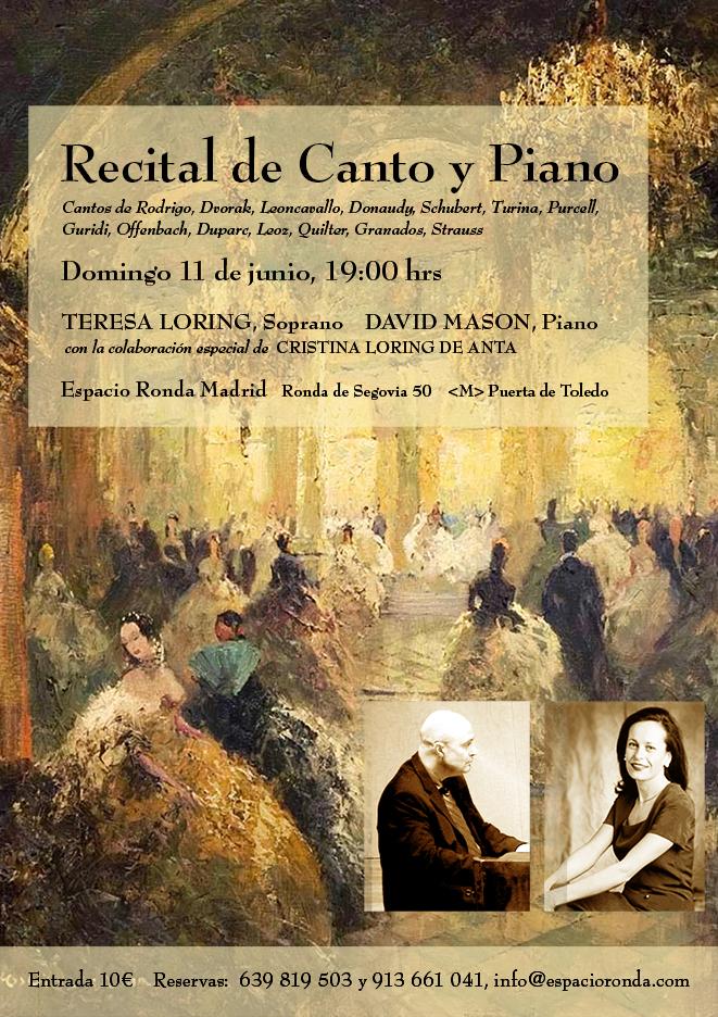 Recital de Canto y Piano