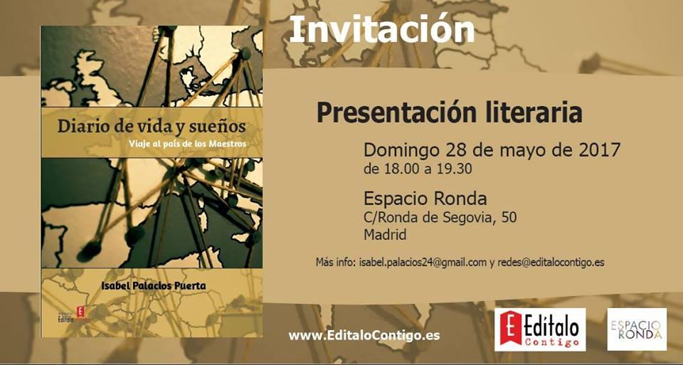 """Presentación literaria """"Diario de vida y sueños"""""""
