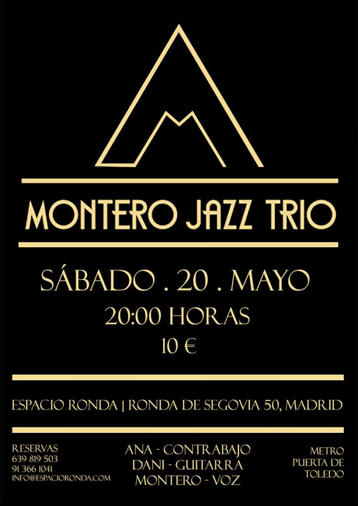 Montero Jazz Trio en concierto