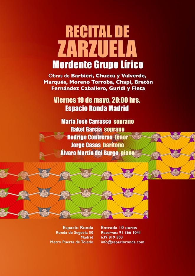 Recital de Zarzuela a cargo Mordente Grupo Lírico
