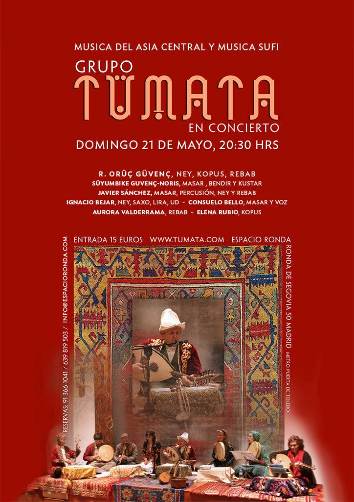 R. Oruç Güvenç y el Grupo Musical Tumata en concierto