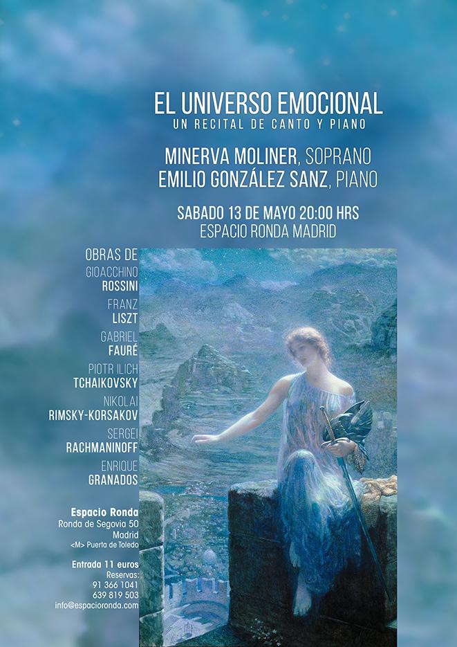 El Universo Emocional, un recital de canto y piano