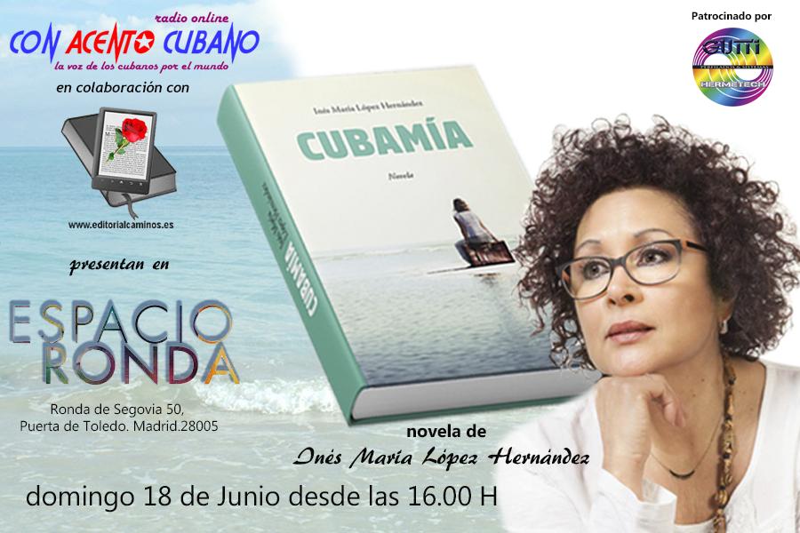 CUBAMÍA novela de Inés María López Hernández