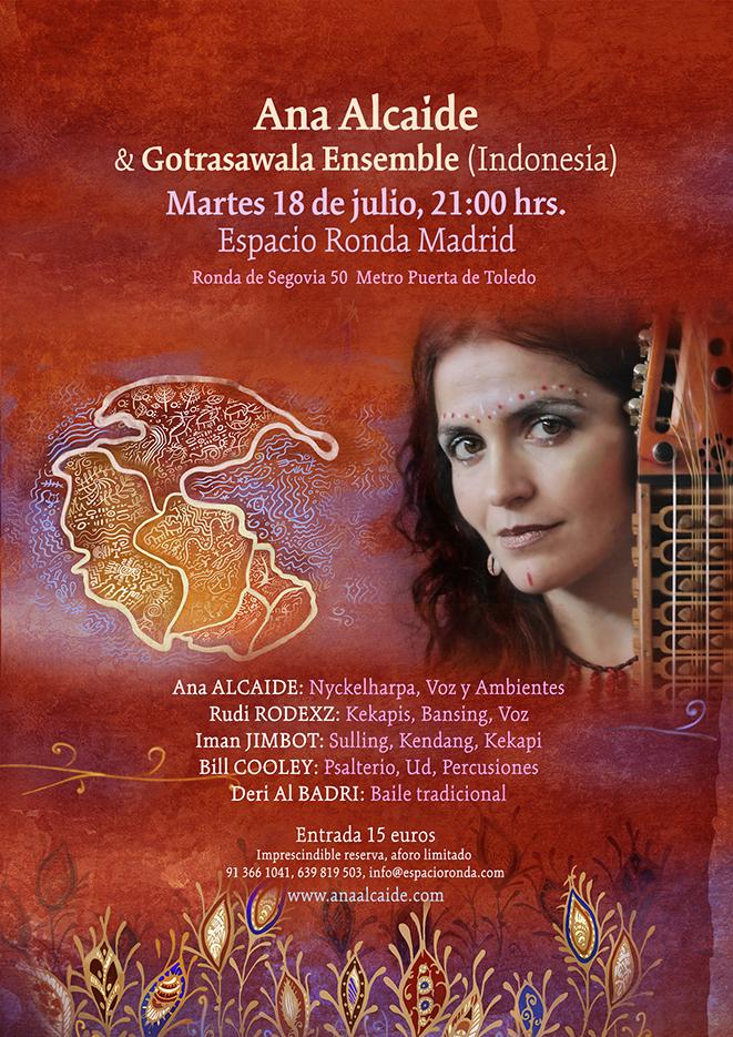Ana Alcaide & Gotrasawala Ensemble
