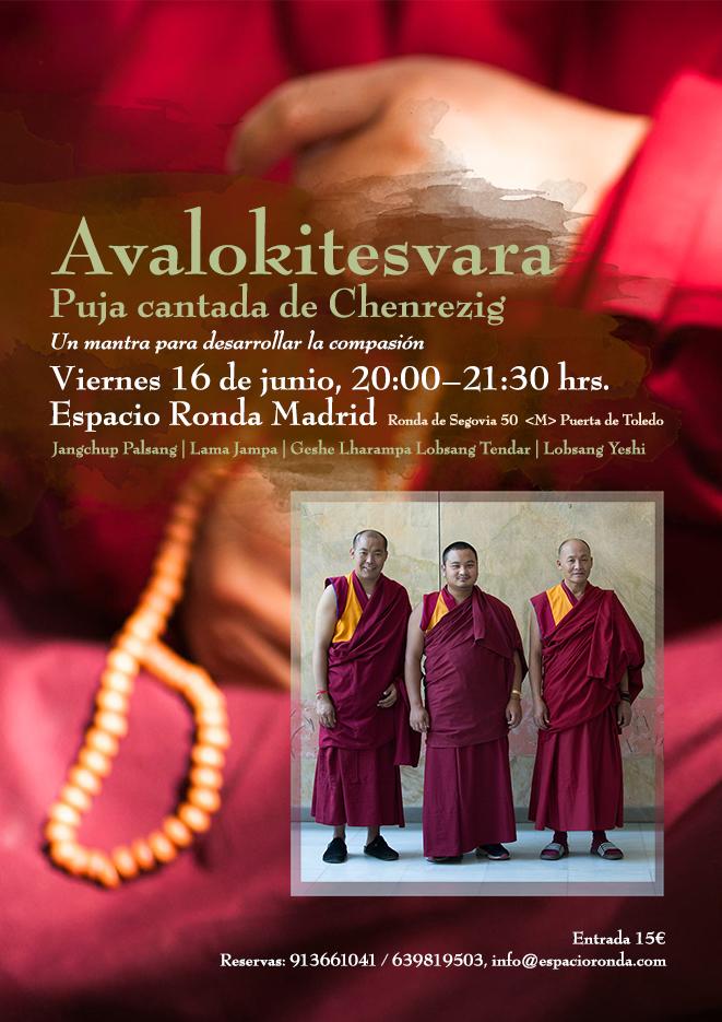 """Avalokitesvara"" Puja cantada de Chenrezig"