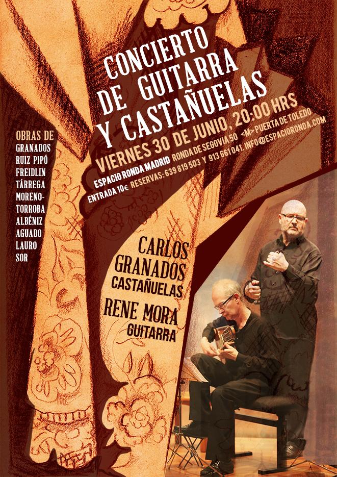 Concierto de guitarra y castañuelas @ Espacio Ronda Madrid