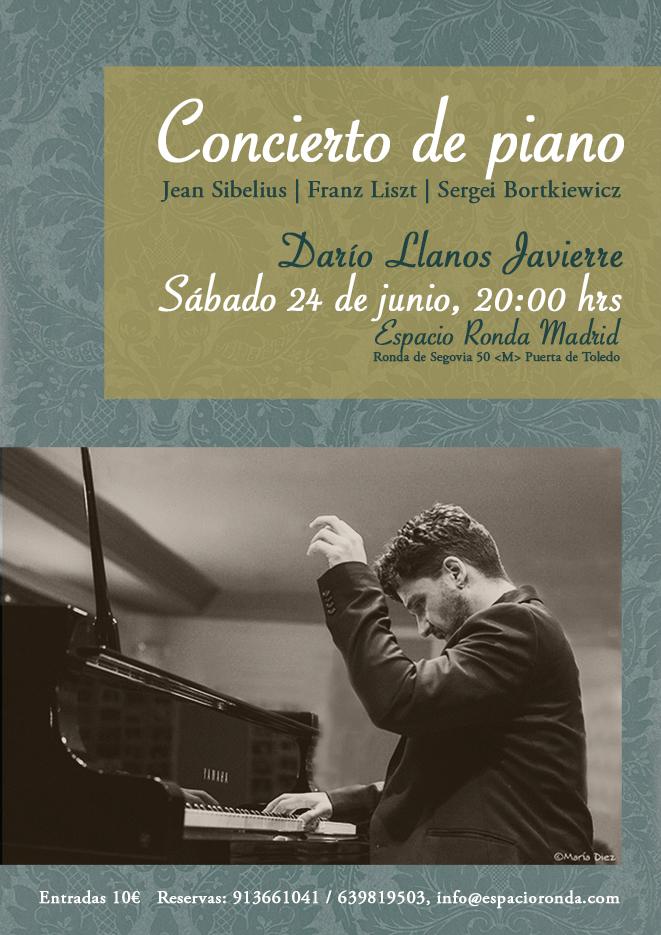 Concierto de piano @ Espacio Ronda Madrid