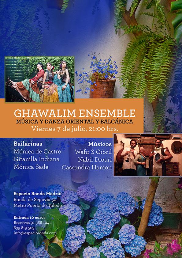 """""""Ghawalim Ensemble"""" Música y danza oriental y balcánica"""