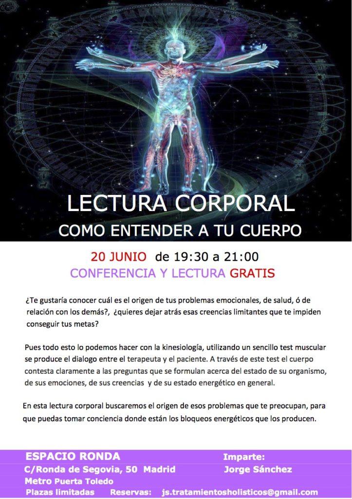 Lectura Corporal, como entender a tu cuerpo