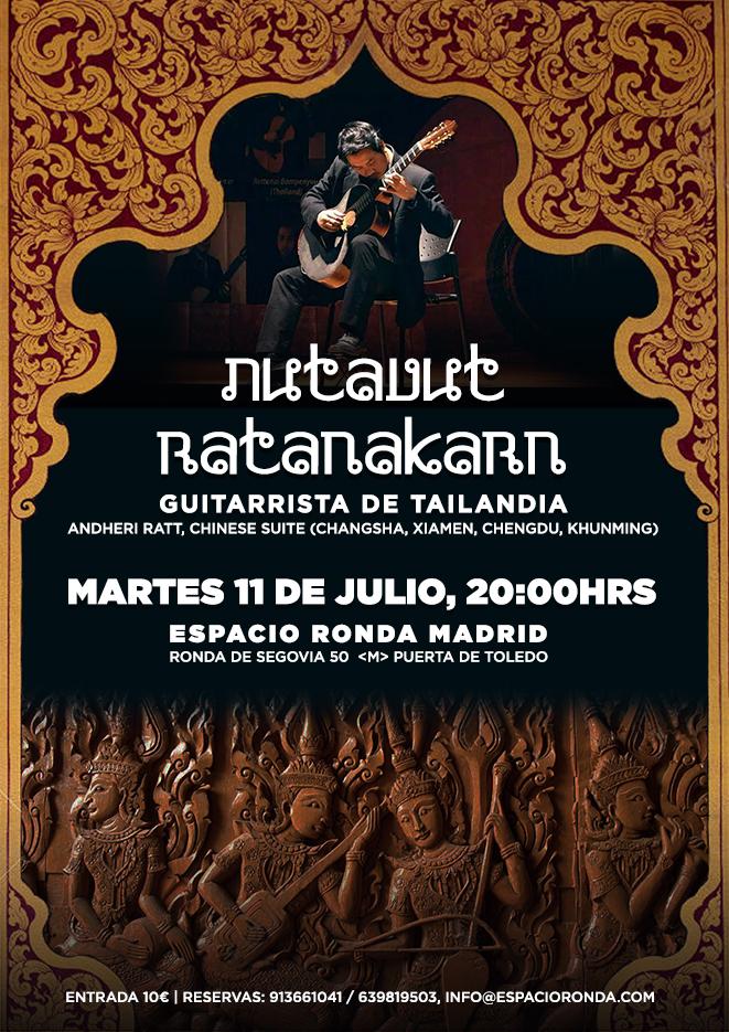 Nutavut Ratanakarn: Guitarrista de Tailandia