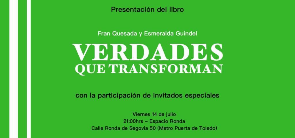"Presentación del libro ""Verdades que transforman"""