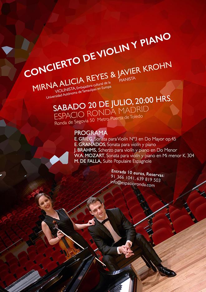 CONCIERTO DE VIOLIN Y PIANO
