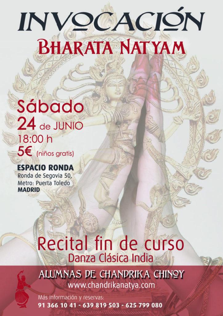 Invocación: Bharata Natyam @ Espacio Ronda Madrid
