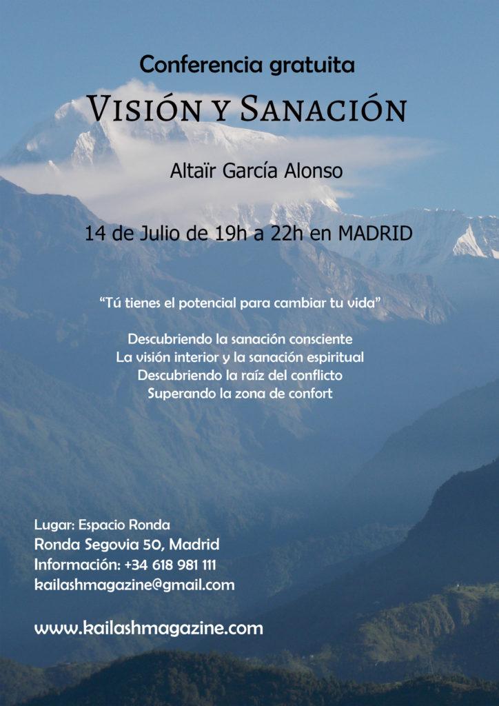 """Conferencia gratuita """"Visión y sanación"""""""