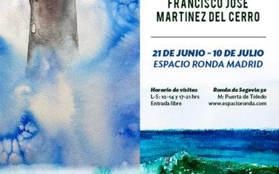 SACRISTÁN FRANCISCO Y MARTÍNEZ DEL CERRO: Exposición de Acuarelas