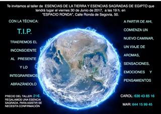 Esencias de la Tierra y Esencias Sagradas de Egipto
