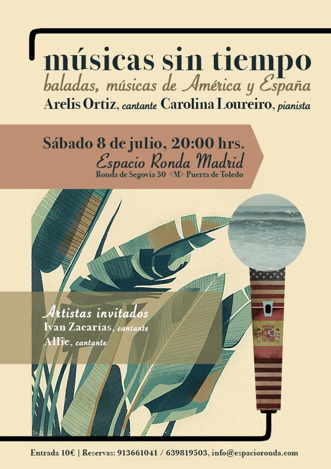 Músicas sin tiempo @ Espacio Ronda Madrid
