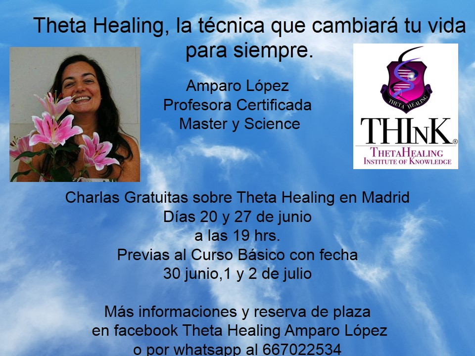 Charla presentación sobre Theta Healing