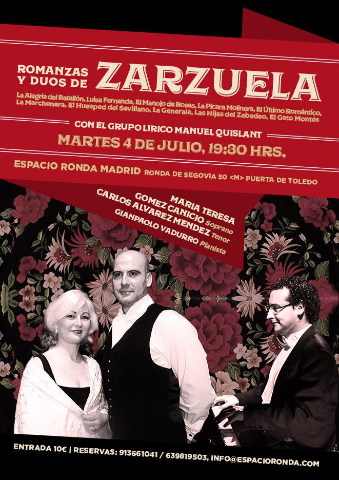 Romanzas y dúos de zarzuela