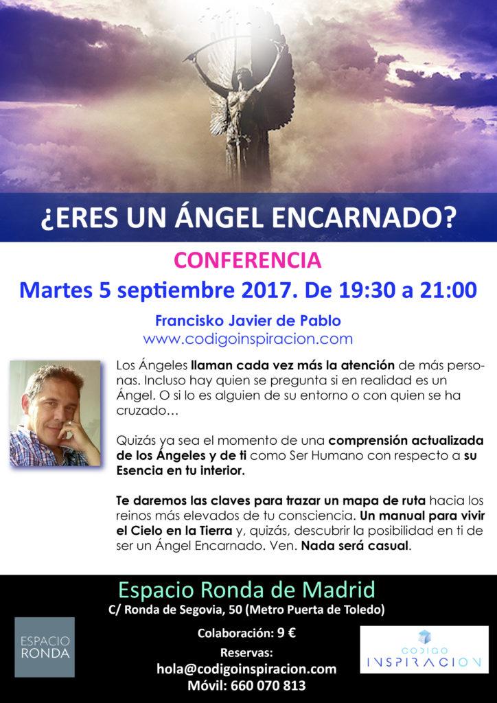 """Conferencia """"¿Eres un Ángel Encarnado?"""""""