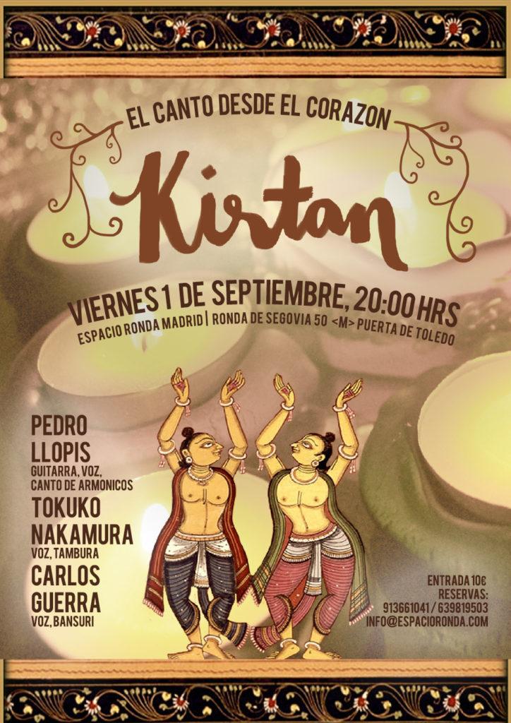 Kirtan, cantos sagrados desde el Corazón