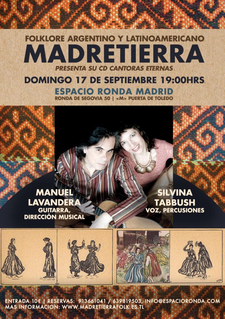 """Madre Tierra presenta su CD """"Cantoras Eternas"""""""