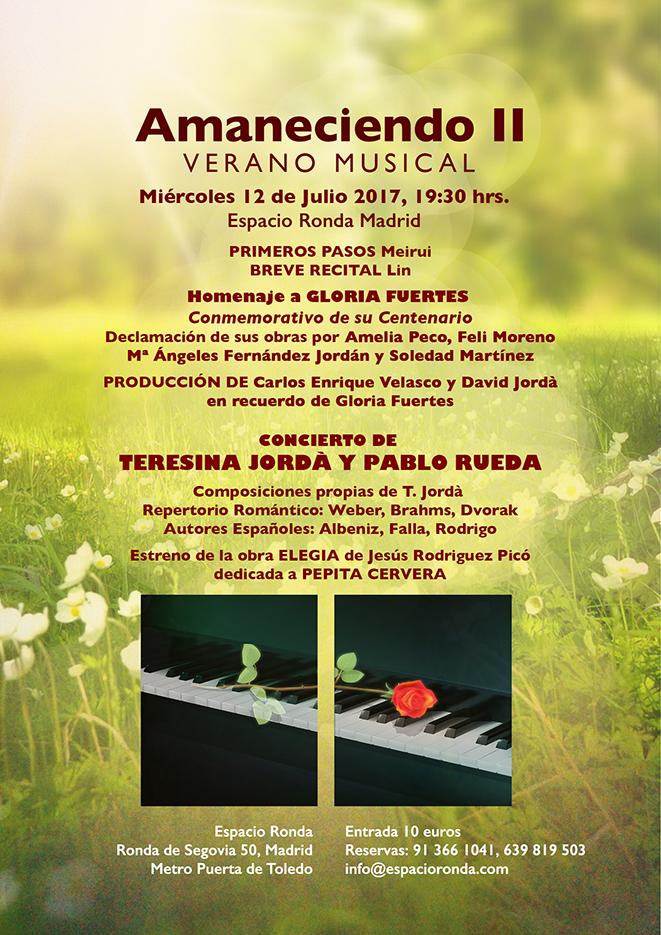 AMANECIENDO II, VERANO MUSICAL