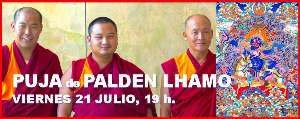 Puja de Palden Lamho con los Lamas Tibetanos