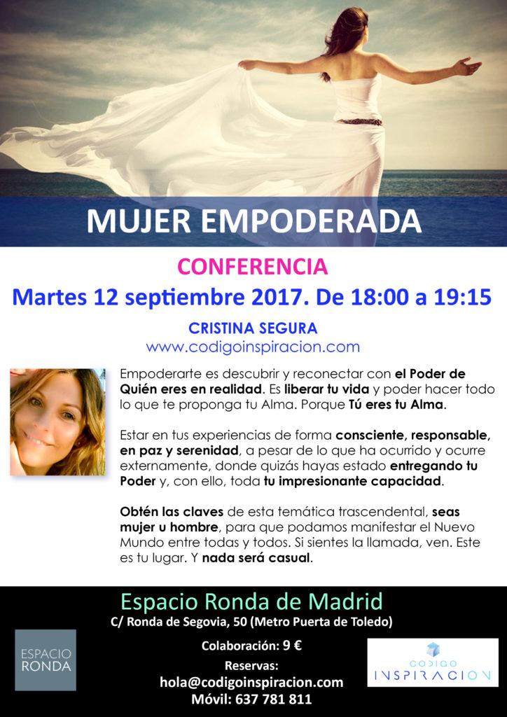 """Conferencia """"Mujer Empoderada"""""""