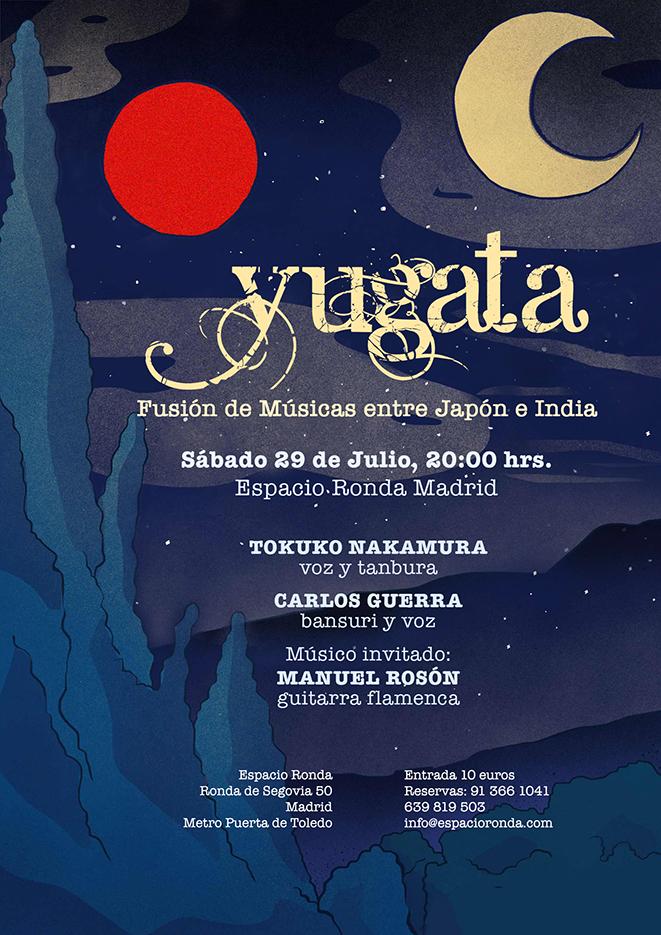 YUGATA: Fusión de Músicas entre Japón e India