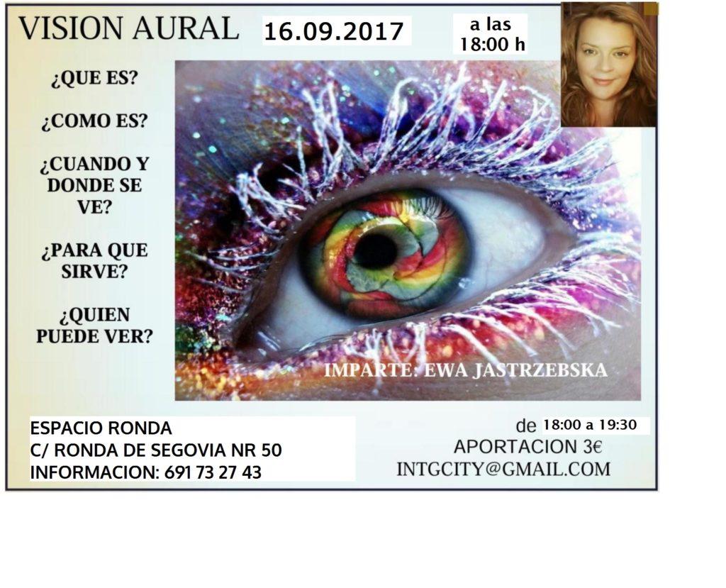 """""""Visión Aural"""" a cargo de Ewa Barbara Jastrzebska"""