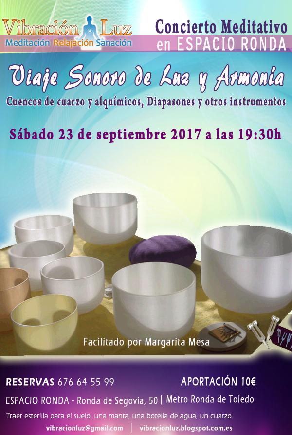 Concierto Meditativo con Cuencos de Cuarzo y alquímicos Viaje sonoro de Luz y Armonía