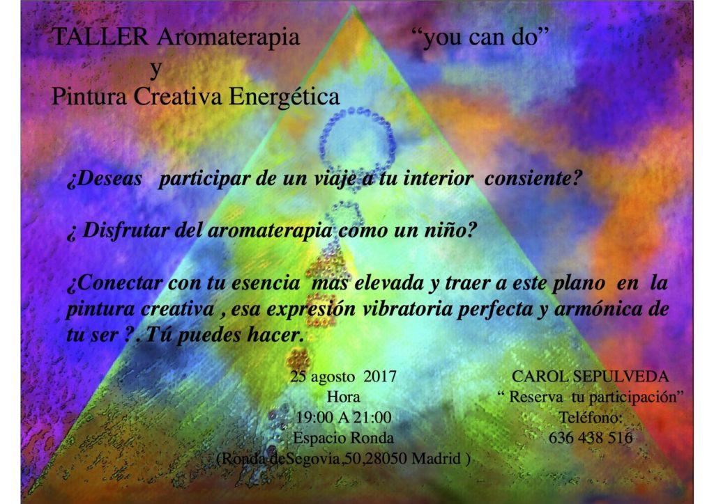 Taller Aromaterapia y Pintura Creativa Energética