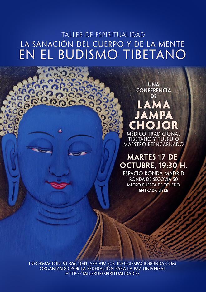 """""""La Sanación del Cuerpo y de la Mente en el Budismo Tibetano"""""""