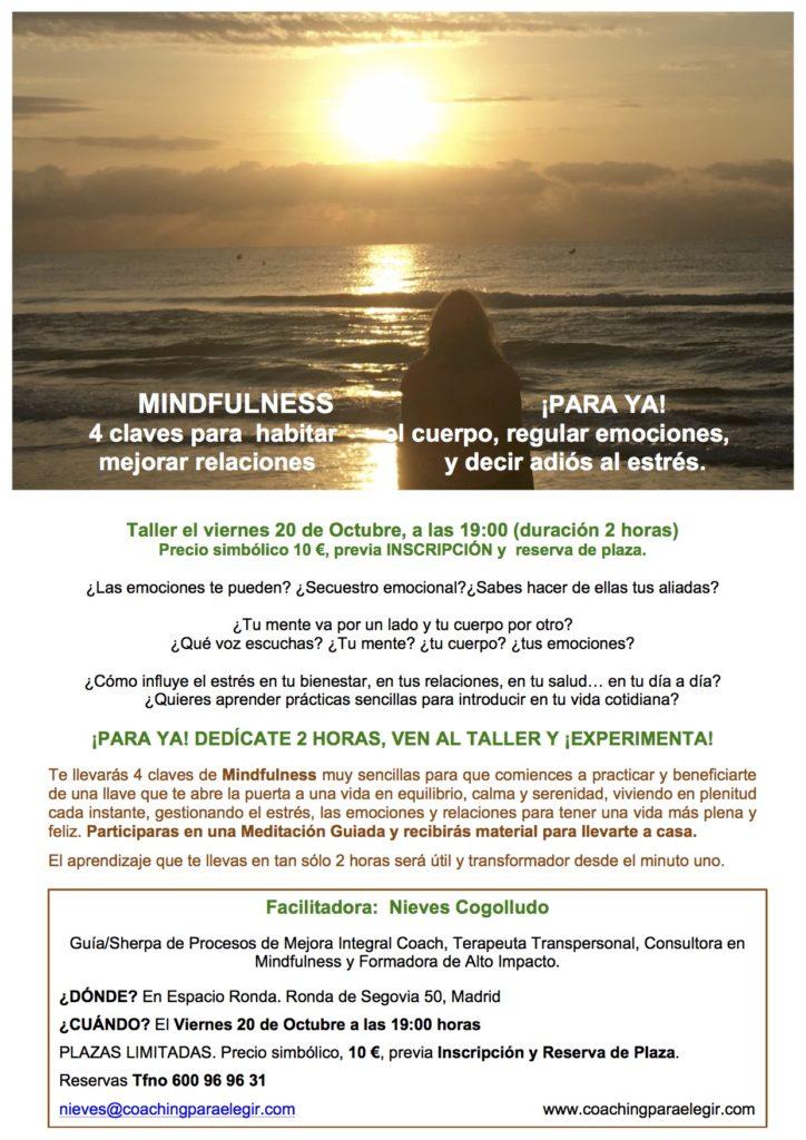 Mindfulness: ¡Para ya! 4 claves para habitar el cuerpo, regular emociones, mejorar relaciones y decir adiós al estrés