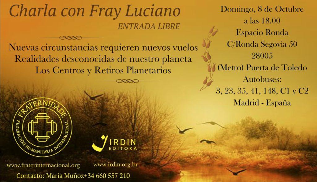 Charla con Fray Luciano