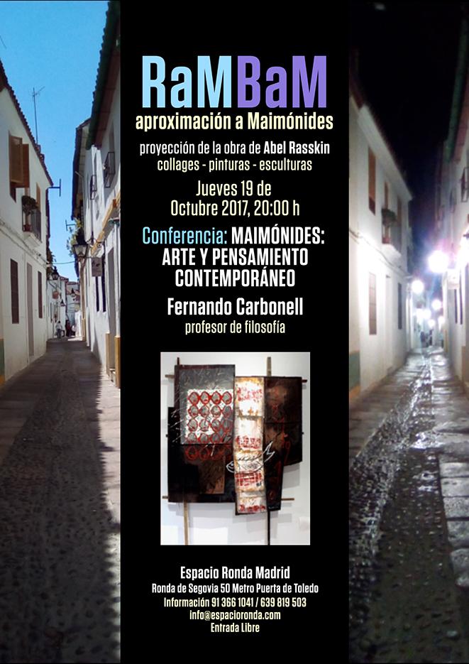 Conferencia y proyección: Maimónides, arte y pensamiento contemporáneo